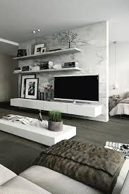 40 TV Wall Decor Ideas Modern Living RoomsLiving