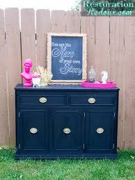Black Dresser Pink Drawers by Pink And Ivory Vintage Dresser Restoration Redoux