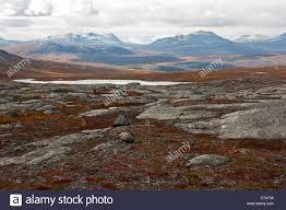 100 Rocky Landscape Landscape North Of The Arctic Circle Saltdal Junkerdalen