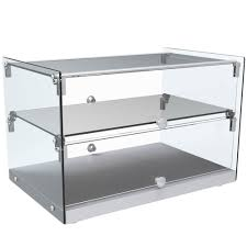 22 Countertop Dry Straight Glass Display Case