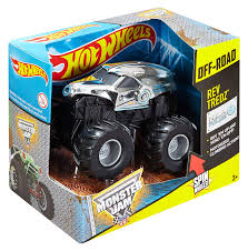 100 Hot Wheels Monster Truck Toys Jam Rev Tredz New Earth Authority Vehicle