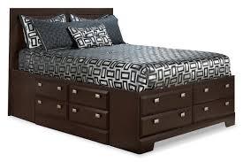 Kira King Storage Bed by Best Storage Beds Canada Shop The Lookbook Image Of Elegant