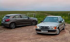 DRIVEN Mercedes Benz A45 AMG vs 190E 2 3 CARmag