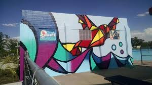 Big Ang Mural Petition by Big Pool U0027s Big Mural Featured In Time Lapse Video Hppr