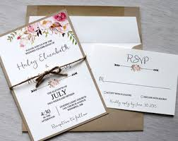 Modern Rustic Wedding Invitations For A Invitation Of Your 15