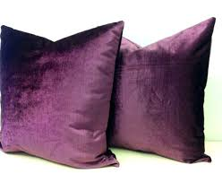 Lovely Purple Decorative Pillows Dark Purple Throw Pillows Purple