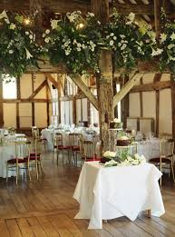 Elegant Barn Wedding Reception Decorations