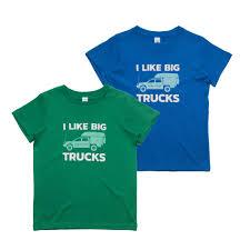 I Like Big Trucks Tee (Kids) - All 4 Adventure