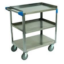 Capacity 3 Shelf Stainless Steel