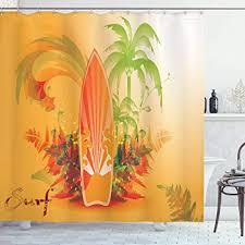vrupi surfboard duschvorhang surf hintergrund welle