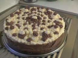 schoko vanille crem torte