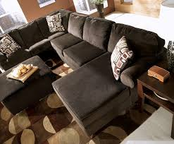 Chocolate Corduroy Sectional Sofa by Ashley Vista Sectional Reviews Ashley Furniture Vista Chocolate