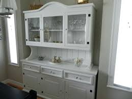 Marvelous Dining Room Hutch Antique White Ana And Buffet Marvelo