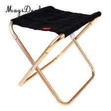 US $14.0 20% OFF Portable Folding Camping Chair Outdoor Picnic Beach Stool  With Carrying Bag, Lightweight And Durable To Use-in Fishing Chairs From ...
