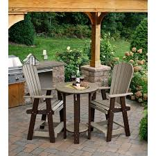 Bar Height Bistro Patio Set by Tall Patio Bistro Set Gccourt House