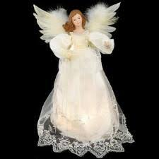 Angel Tree Top With Ivory Gown