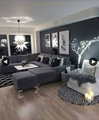 wohnzimmer ideen dunkel