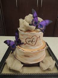 Rustic Bridal Shower Cake THE ONE Buttercream Instead