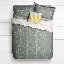 Buy House By John Lewis Elevation Duvet Cover And Pillowcase Set Smoke Single Online