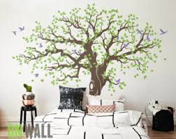 large tree wall decals trees decal nursery by theameliadesigns