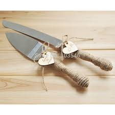 Buy Personalized Rustic Wedding Cake Cutter And Knife Customized Burlap Serving Set Custom In Cheap Price On Alibaba