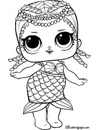 Lol Doll Coloring Pages