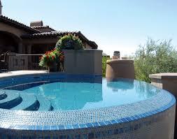 pool tile options glass porcelain luxury pools