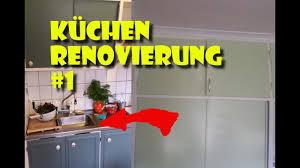 küchen renovierung total kitchen makeover 1 aus alt mach neu