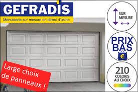 porte sectionnelle sur mesure porte de garage sectionnelle automatique télecommandée