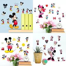 Mickey And Minnie Mouse Bath Decor by Mickey Mouse Clubhouse Wall Stickers Gallery Home Wall