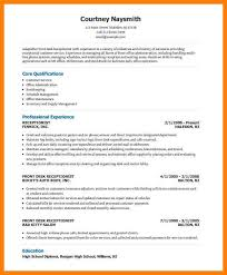 Front Desk Receptionist Curriculum Vitae by Receptionist Resume Orthodontic Office Receptionist Resume