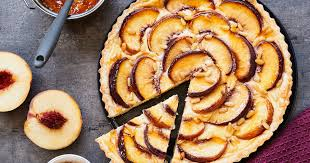 pfirsich tarte einfach selber machen