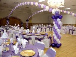quinceanera and boda decorations with balloons wedding