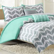 Twin Xl Bed Sets by Nadia Twin Xl Comforter Set Chevron Teal Free Shipping