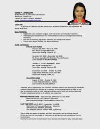 15 Latest Resume For Year Old