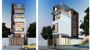 100 Narrow Lot Home Duplex Townhouse Ranch Contemporary Floor For Designs