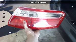 toyota camry 2007 2011 how to replace your light assembly