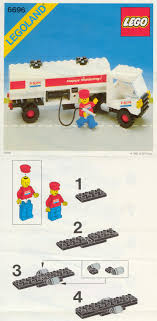 City : LEGO Fuel Tanker Instructions 6696, City