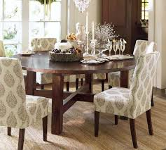 Pottery Barn Aaron Chair Espresso by Toscana Fixed Round Dining Table Perfect Except For One Thing