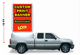 100 Truck Bed Giant Inflatable 18ft Tall Billboard Sign With