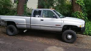 97 Dodge 3500 12v 4x4 Dually For Sale : Trucks
