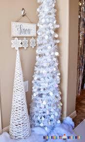 Hobby Lobby Pre Lit Led Christmas Trees by White Christmas Tree Walmart Walmart Flocked Christmas Tree