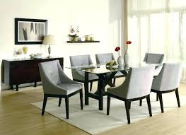 Elegant Formal Dining Room Sets Traditional Furniture Modern Ideas Round Glass Top Table
