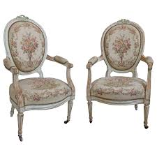 Pair Of French 19th Century Louis XVI Style Armchairs In Petit ... French Antique Louis Xvi Style Painted Bgere Chair On The Highboy Armchair Huff Harrington Mint Green Inoutdoor Chairish Georges Jacob Fauteuil From Xvis Salon Des Fine Pair Carved Gilt Upholstered Xv Hand Fauteuil Or Sold Ruby Lane Of Cream Lacquered Wood Bgere Armchairs Style Chair Tiffany Lamps Bronze Statues Baroque Black Roco Fniture And 16 Giltwood Side Chairs Interiors Fauteuils A La Reine Armchairs Modern