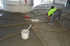 Terrazzo Flooring Installation Images