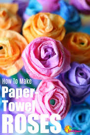 Make Paper Towel Roses That Look Like Real With This Easy Craft Tutorial Now