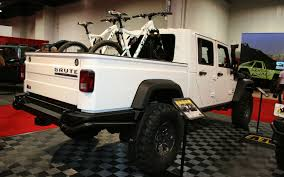 100 Brute Jeep Truck SEMA 2011 AEV To Debut Double Cab Pickup Conversion In