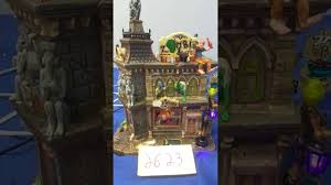 Lemax Halloween Village Ebay by Lemax Spooky Town Zombie U0027s Cafe 65346 As Is 2623 Youtube