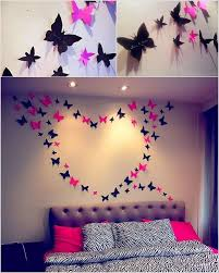 Awesome Butterfly Heart Wall Art Idea