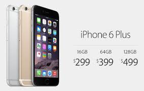 Iphone Price Iphone 6 Plus